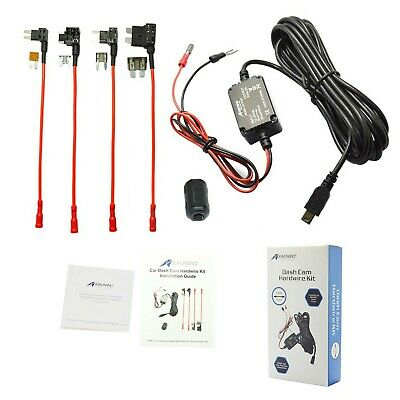 Meknic SV-PC01 Dash Cam Hardwire Fuse Kit with Hard Wire Car Charger Cable fo...
