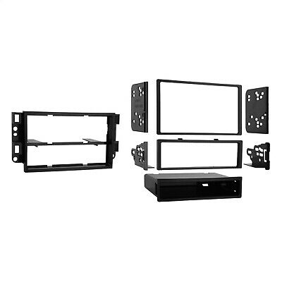 Metra 99-3306 Double DIN or Single DIN Installation Dash Kit for 2007-up Chev...