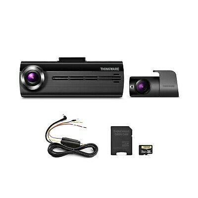 THINKWARE FA200 Dash Cam Bundle with Front & Rear Cam, Hardwiring Cable, 16GB...