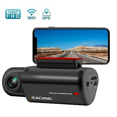 Dash Cam WiFi Dash Camera for Cars FHD 1080P Car Camera with GPS 150° Wide An...