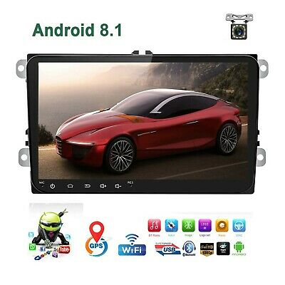 Car Stereo Double Din Android 8.1 Car Radio for VW Passat Golf Jetta T5 EOS P...