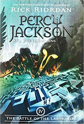 Percy Jackson and the Olympians, Book Four: The Battle of the Labyrinth (Cove...
