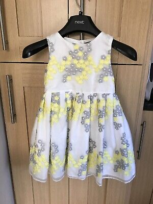 Marks & Spencer Autograph Girls Dress Age 3-4 Years Excellent Cond