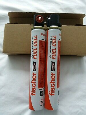 GREATLY REDUCED!! BNIB PACK of 2 FISCHER FUEL CELL GAS