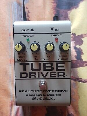 Tube Driver Bk Butler with bias mint conditions