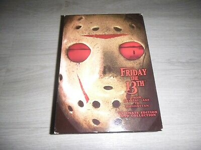 Friday The 13th Ultimate R1 DVD Set Jason Voorhees