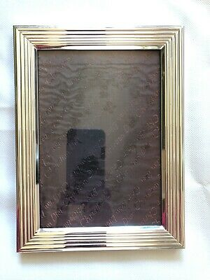 """Vintage CHRISTIAN DIOR Silver Plate Picture Frame - 5""""x7""""photo"""