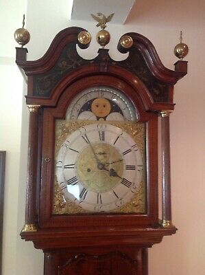Thomas Brown Of Chester Long Case Clock Circa 1760.