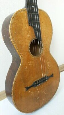 antike Gitarre  Biedermeier Gitarre antique guitar.