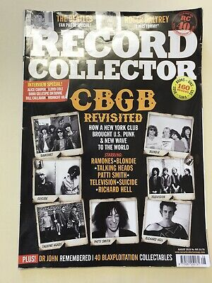 Record Collector Magazine - August 2019 - The Beatles - Roger Daltrey