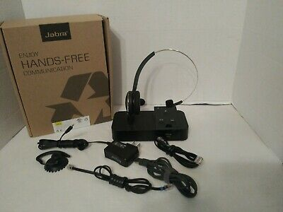 Jabra Pro 9450 Single Ear Wireless Headset 51 99 Picclick