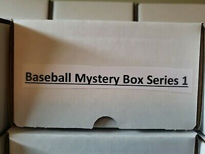 175 Card Mystery Baseball Box. 2 Auto +1 Relic hits, Loaded With Rookies
