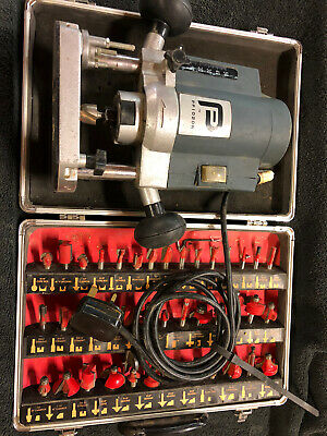 """1/4"""" Router With Cutter Set"""