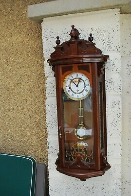 Vintage Woodford Westminster Chimes Vienna Style Wall Clock