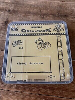 TOM & JERRY - Flying Sorceress auf Super 8 CINEMASCOPE
