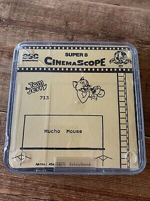TOM & JERRY - Mucho Mouse auf Super 8 CINEMASCOPE