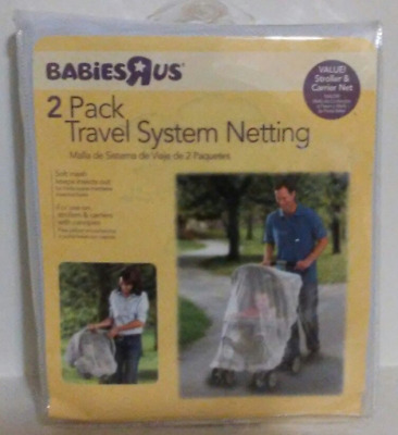 Especially For Baby 2 Pack Travel System Netting -Stroller & Carrier (Retail $29