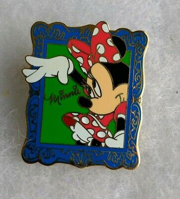 Minnie Blue Frame 12 Months of Magic Authentic Disney Store Lanyard Pin 12518