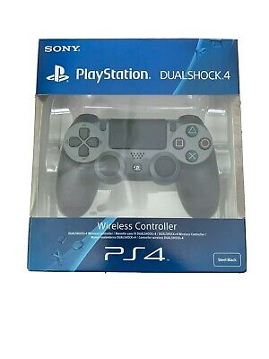 Sony Dualshock PlayStation 4 (PS4) Wireless Controller Steel Black