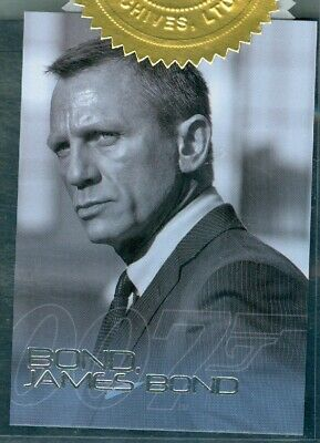 James Bond Autographs & Relics ( BJB23 ) Case Topper Card