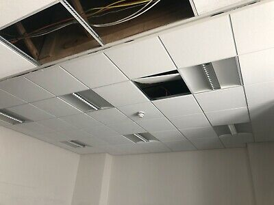 *Used Suspended Ceiling Commercial with Inset Lighting Panels*