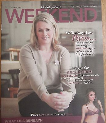 Trish Deseine - Jane Fallon – Irish Independent Weekend magazine – 8 Feb 2014