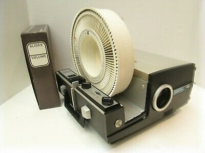SAWYER Rotomatic Slide Projector 747AQ - Auto Focus - Cycle Timer - Remote!