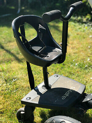 Be Cool Skate Board, Universal Buggy Board with Seat, black, excellent condition