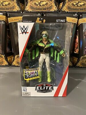 WWE Mattel Sting Elite Series 62 Wrestling Action Figure WCW