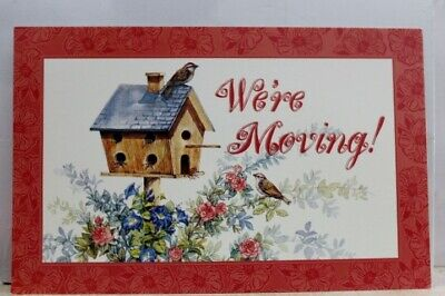 Greetings We're Moving Postcard Old Vintage Card View Standard Souvenir Postal P