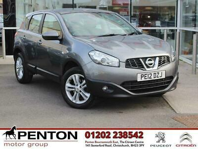 2012 Nissan Qashqai 1.6 dCi Acenta 2WD (s/s) 5dr
