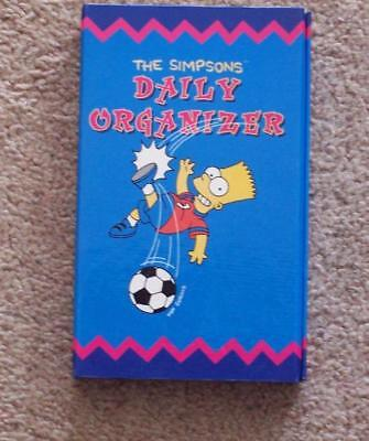 THE SIMPSONS DAILY ORGANIZER - Vintage - NEW