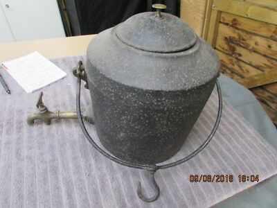 Victorian Cast Iron Kettle/Pot.