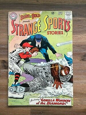 Brave and the Bold 49 from 1963 Vintage DC Silver Age VG Strange Sport Stories