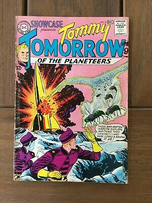 Showcase 47 from 1963 Vintage DC Comics Silver Age Tommy Tomorrow VG