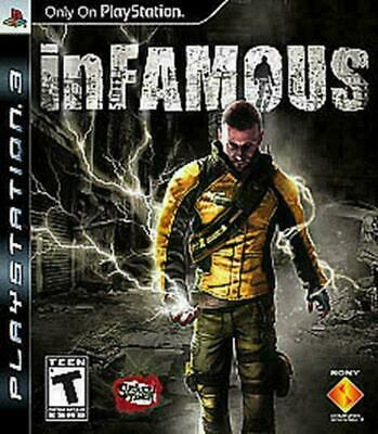 inFamous (Sony PlayStation 3, 2009) VERY GOOD