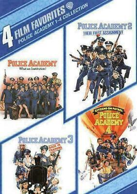 Police Academy 1-4 Collection 4 Film Favorites DVD, 2009, 2-Disc Set, Canadian M