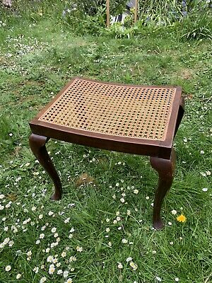 Lovely Victorian Caned Stool