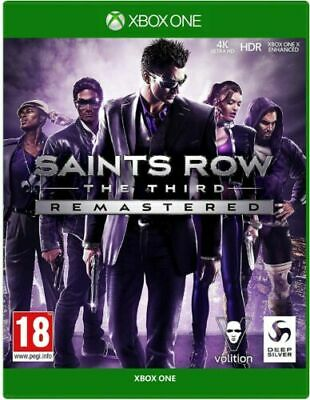 Saints Row The Third Remastered - Xbox one - New & Sealed