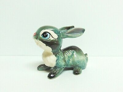 Vintage Kreiss & Company Gray And White Thumper-Style Bunny Rabbit W/Large Eyes