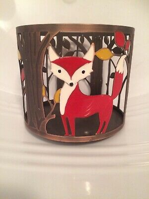 Bath and Body Works 3-wick Candle Holder Red Fox