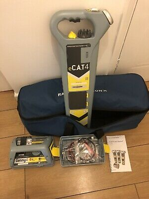 Radiodetection eCAT4 Cable Avoidance Tool/Cat Detector And Genny