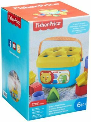 Fisher-Price Baby's First Blocks. New! sort it