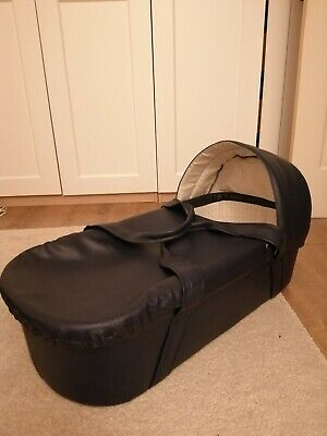 Vintage Sytle Leather Baby Single Carrycot