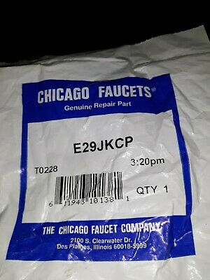 Chicago Faucets E29JKCP Non-Aerating Outlet Pressure Compensating Pack of 6