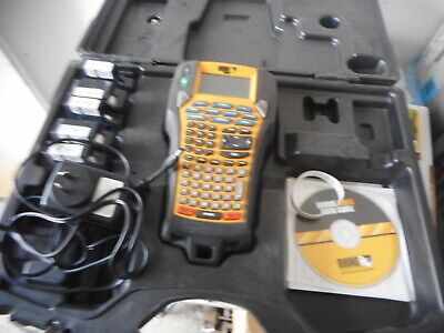 DYMO RHINO 6000 PROFESSIONAL LABEL PRINTER with HARD CASE and ACCESSORIES