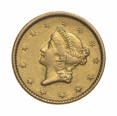 $1.00 United States Gold Coin - 1850 $1 Liberty Head - Historic *584