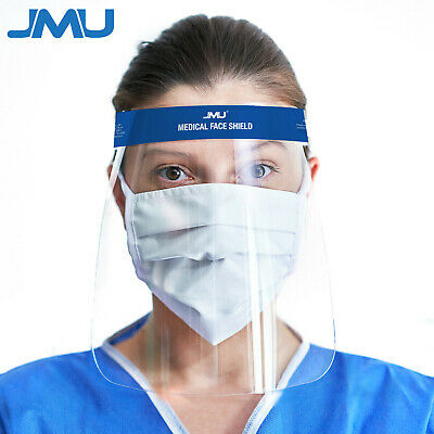 1/2/5/10 Pack Safety Face Shield Reusable Full Cover Mask Anti-fog Eye Helmet