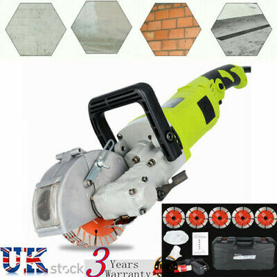 Electric Wall Chaser Groove Cutting Slotting Machine Brick Concrete Cutter 4000W
