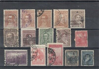 ancien timbres argentina argentine